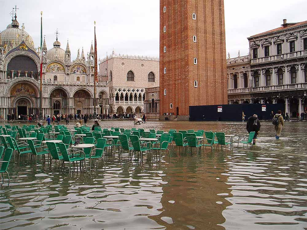 high water in Piazza San Marco
